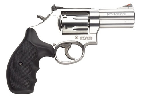 Smith & Wesson- MODEL 686 PLUS - 3in. BBL 357 MAG STAINLESS 7 SHOT TARGET SIGHT 686+ (164300)