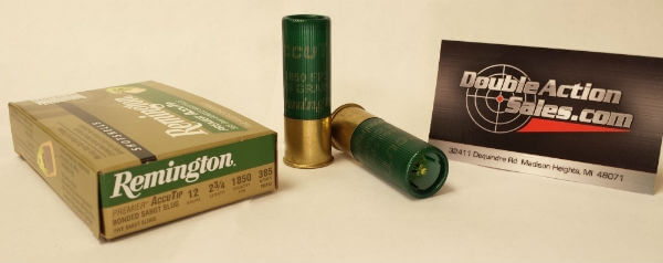 Remington 12 GA 2 3/4in. Bonded Sabot Slug Accutip (20727)