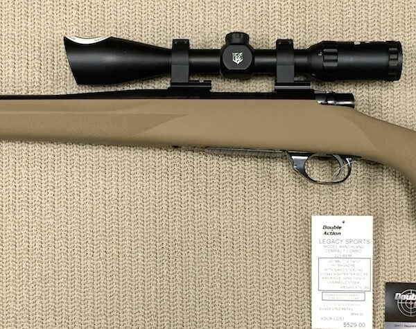 Legacy Sports Ranchland Compact Combo .223 - Sand stock (34285)