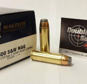 Magtech 500 S&W Mag 325gr SJSP-Flat (500B)