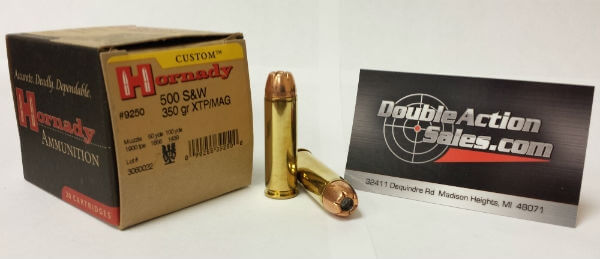 Hornday 500 S&W 350gr XTP/MAG (9250)