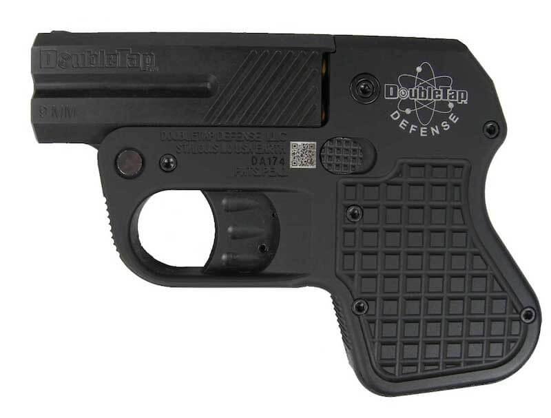 DoubleTap Defense - Pocket Pistol - Aluminum Frame - 9mm (DT009001)