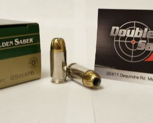Remington 45 ACP 230gr JHP Golden Saber (GS45APB)