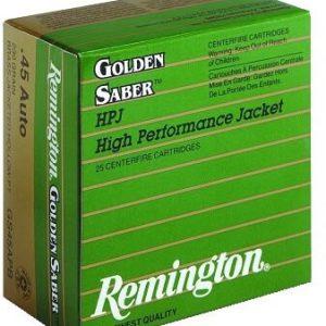 Remington 9MM 124gr JHP Golden Saber (GS9MMB)