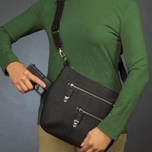 GTM-0023 Chrome Zip Handbag