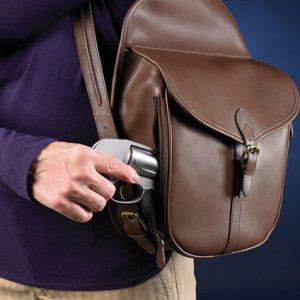 GTM-0189 Concealed Carry Shoulder Saddlebag