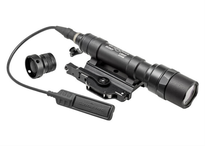 SureFire Scout Light w/ Swing Mount Lever (M620U-A-BK)