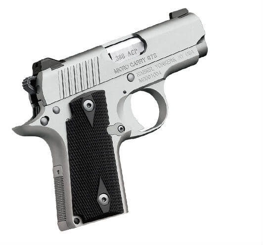 Kimber 1911 Micro Pistols: Double Action Indoor Shooting