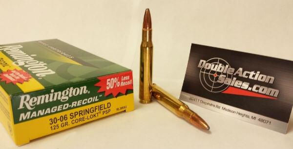 Remington 30-06 Springfield 125gr Core-Lokt PSP (RL30062)