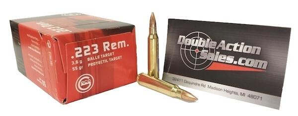 Geco .223 Ammo Sale | Double Action Indoor Shooting Center & Gun Shop