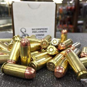 Scorpion Reloads 10mm RNFP (165gr Reloads)