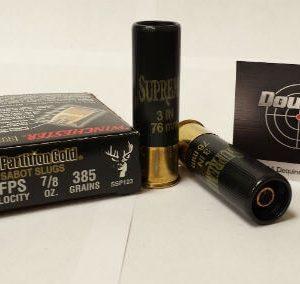 """Winchester 12 GA 3"""" 385gr Slug Partition Gold (SSP123)"""