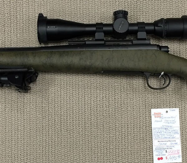 Remington Model 700 XCR Tactical - Unfired (Used) for Sale