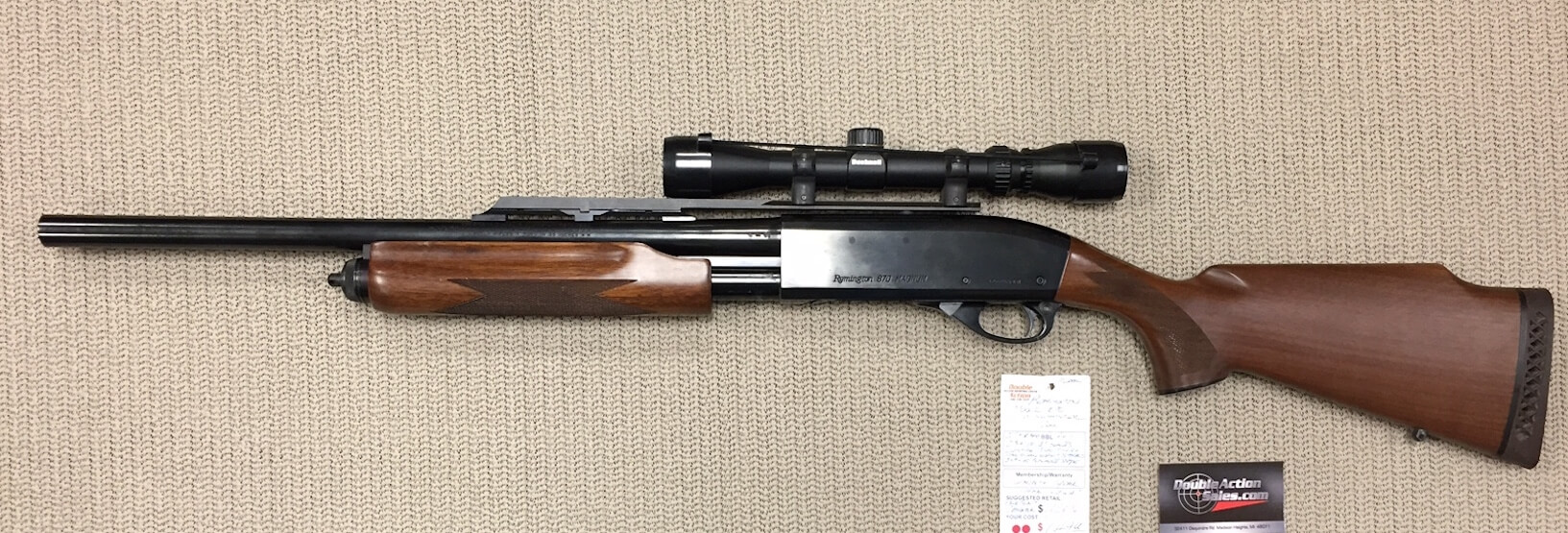 Remington Model 870 Wingmaster (Used) | Double Action ...