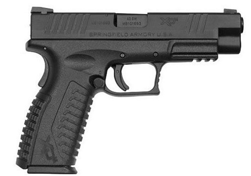 Springfield Armory- 4.5in. BBL 40 S&W 16+1 TRIGGER/GRIP SAFE GEAR PACKAGE (XDM9202HCSP)