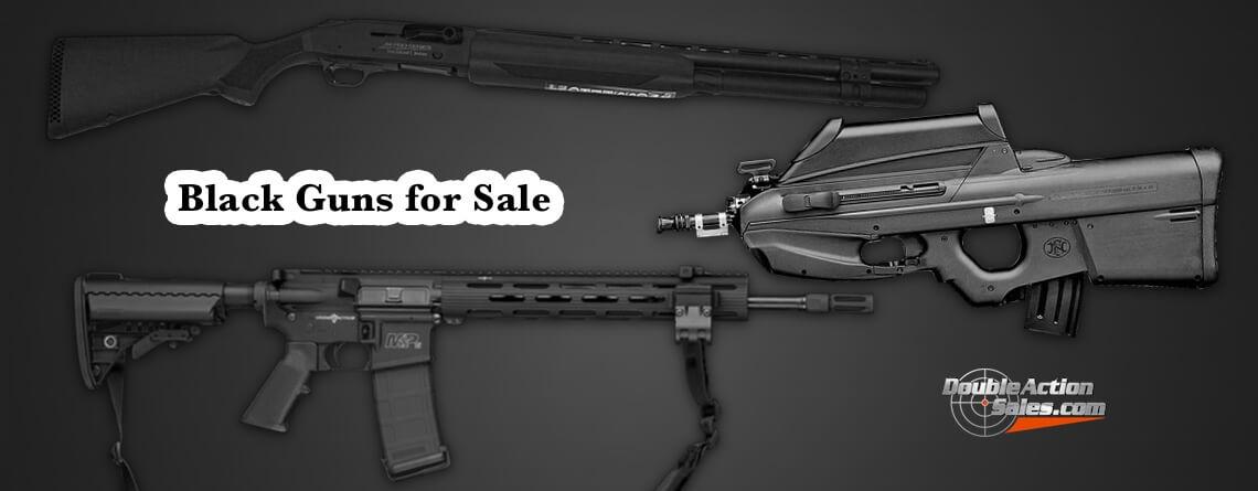 black guns for sale