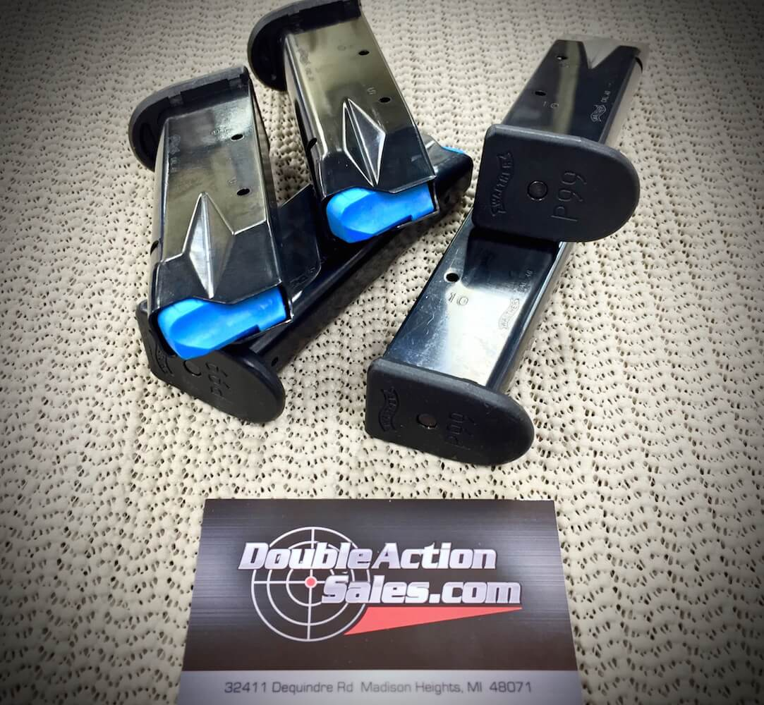 Walther P99  40 S&W 12 Round Mags - Police Trade-Ins