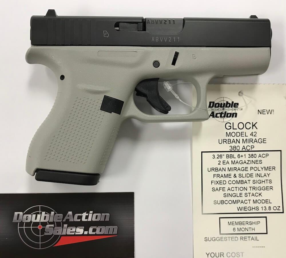 Glock 42 (Urban Mirage Frame)