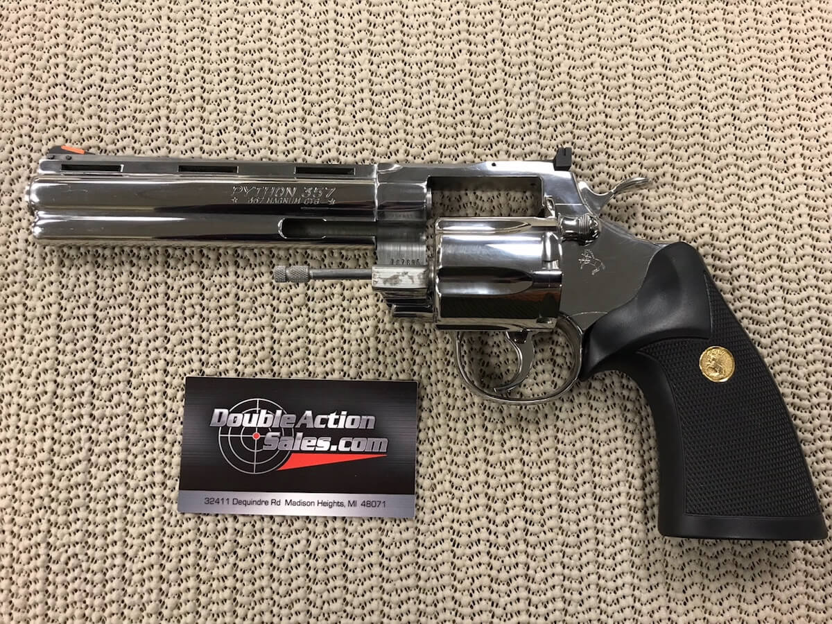 Colt Python 6 0in  357 Magnum | Mfg  1987 | Like New In Box