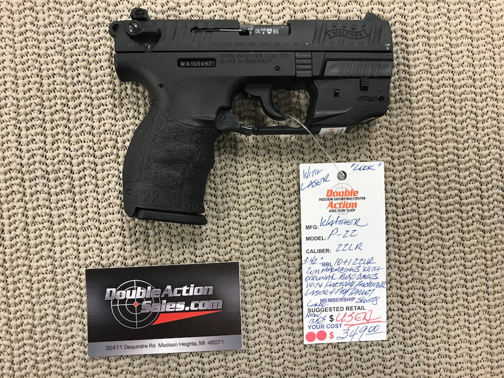 Walther P22 (Used)  22 LR