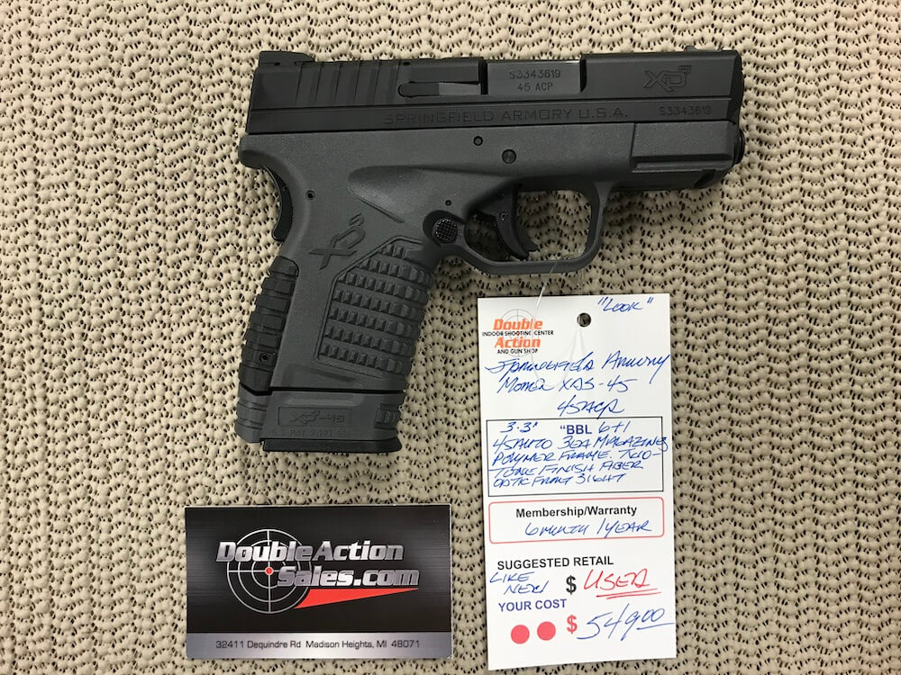 Springfield XDS 45 (Used)