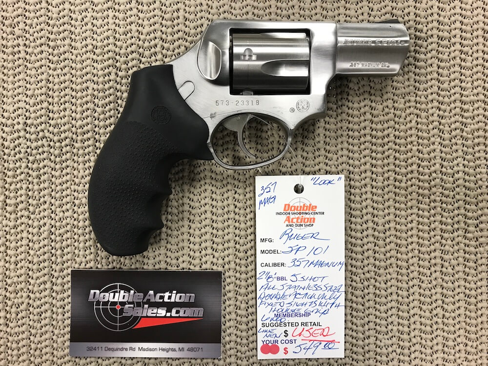 Ruger SP101 (Used)