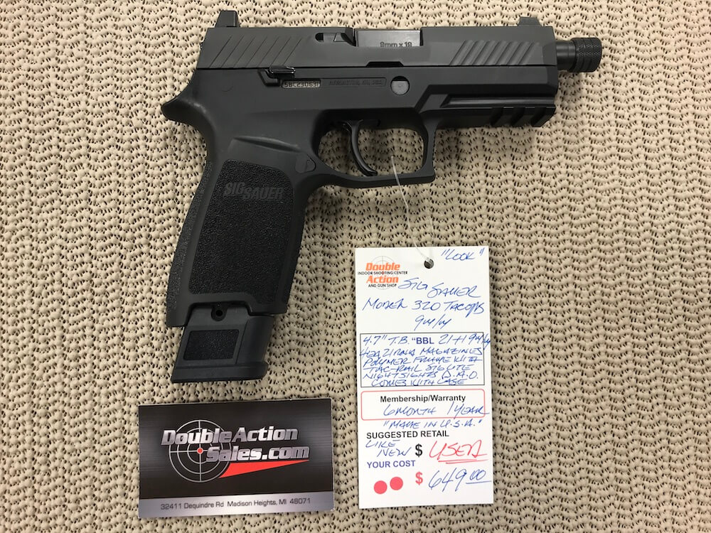 Sig Sauer P320 TACOPS (Used)