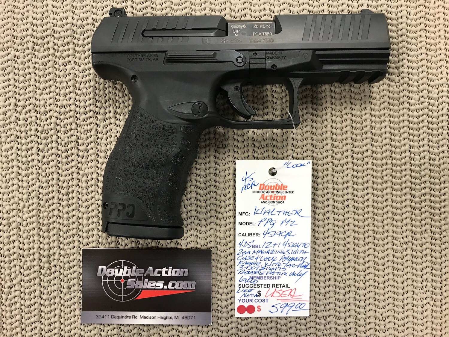 Walther PPQ M2 (Used)