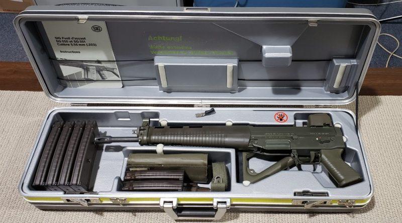 SIG 551-2 (Serial # 1)